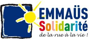 Emmaüs Solidarité. Logo