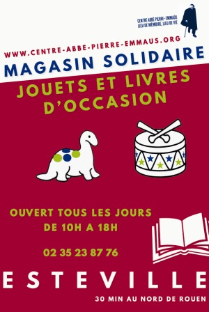 Affiche Magasin solidaire- WEB